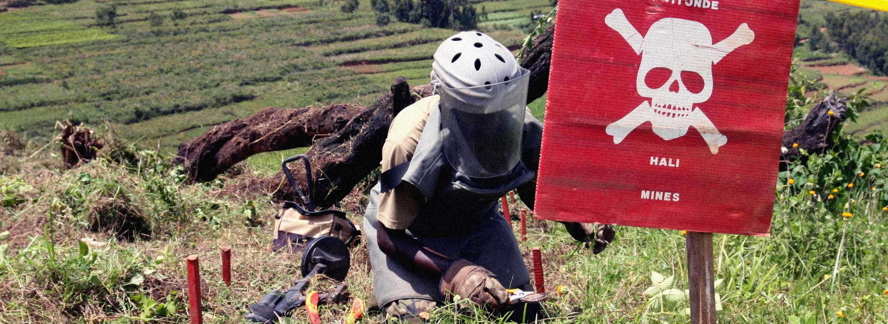 The International Mine Action Standards (IMAS) and Explosive Remnants of War (ERW) Training Specialists