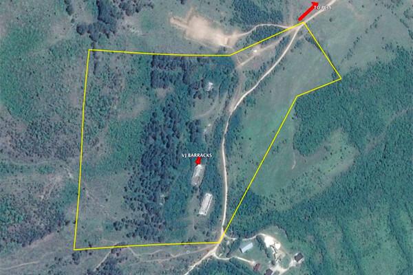 Demolitions Ranges VJ Barracks map