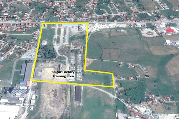 Demolitions Ranges Sugar Factory map